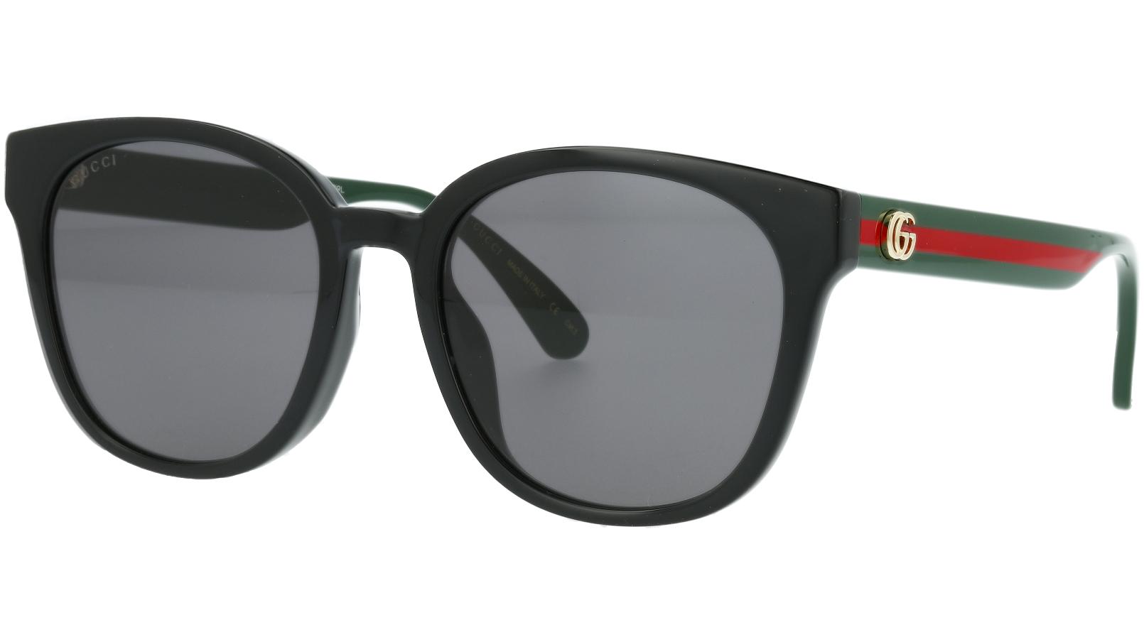 Gucci GG0855SK 001 56 Black Oval Sunglasses