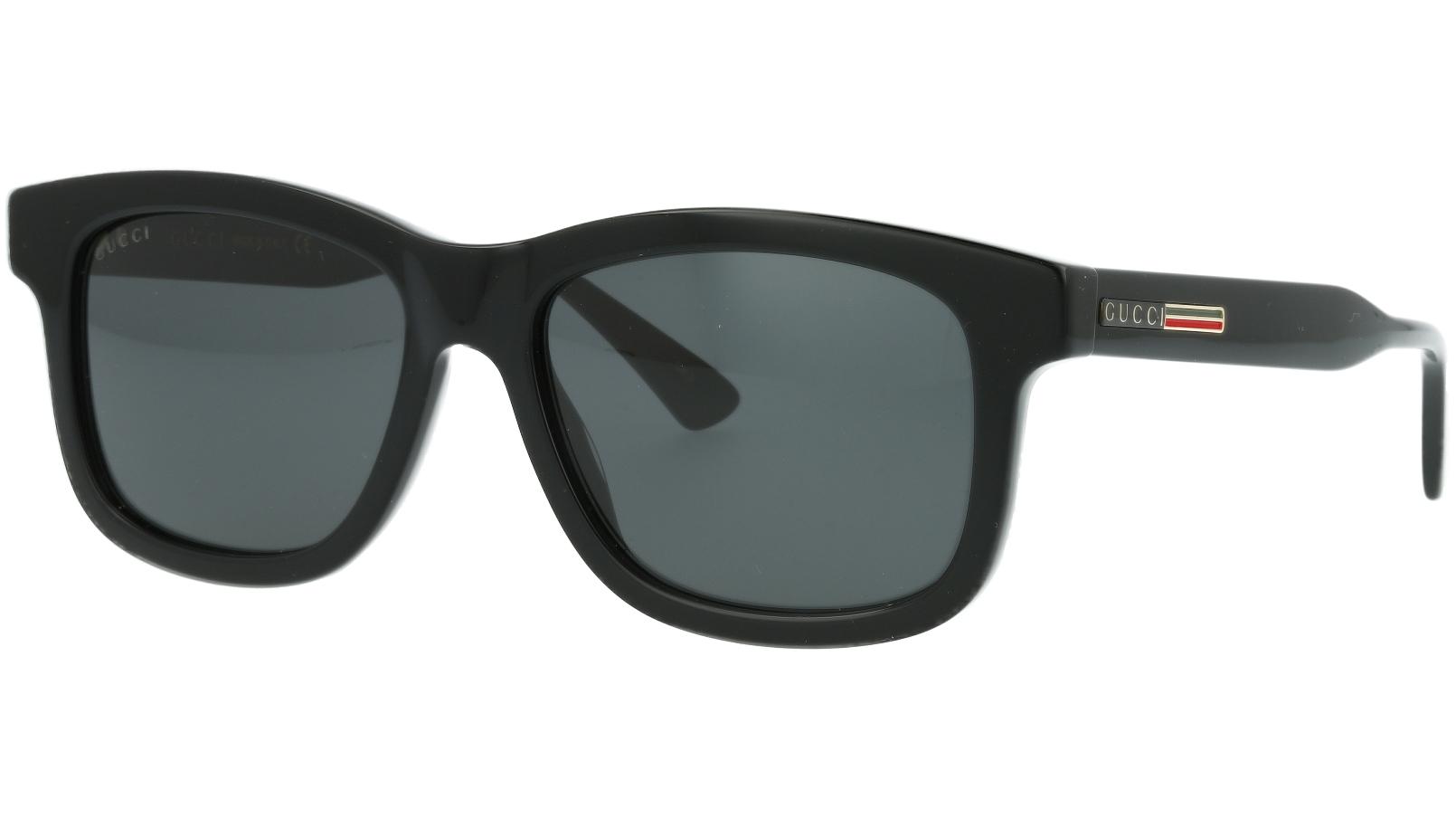 Gucci GG0824S 005 55 Black Square Sunglasses