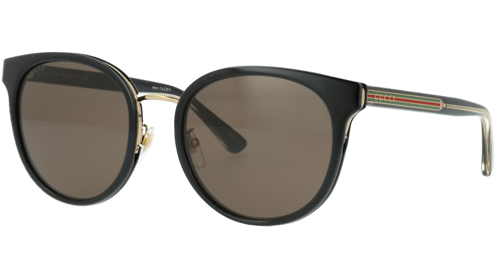 Gucci GG0850SK 001 56 Black Full-Rim Sunglasses