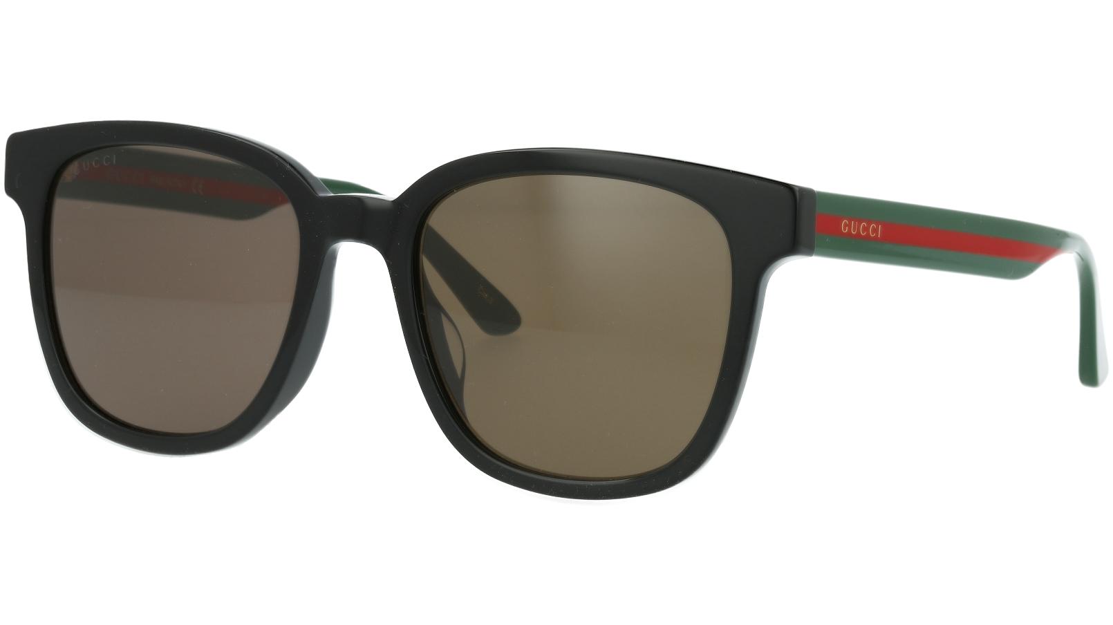 Gucci GG0848SK 001 54 Black Square Sunglasses