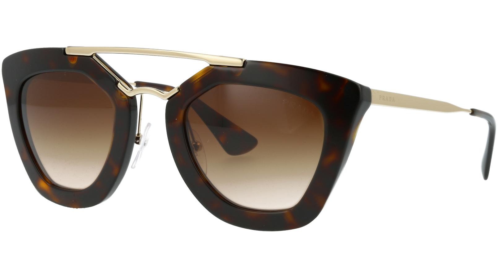 PRADA PR09QS 2AU6S1 49 HAVANA Sunglasses