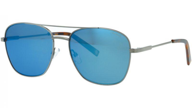 POLAROID PLD2068/S/X 6LB5X 58 RUTHENIUM Sunglasses