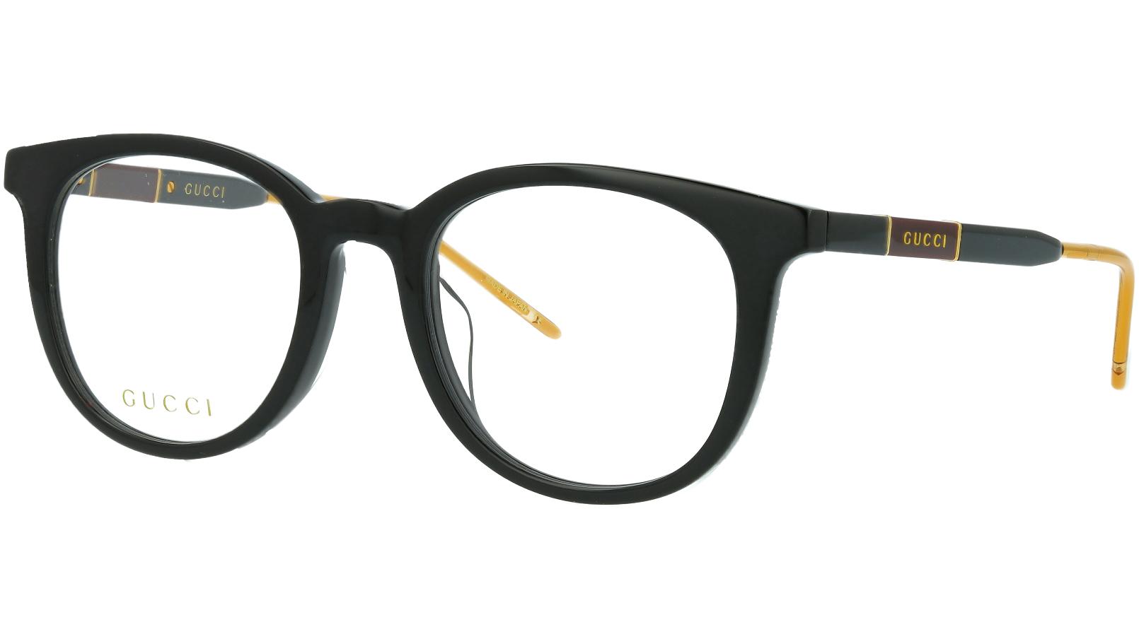Gucci GG0845OK 005 53 Black Round Glasses
