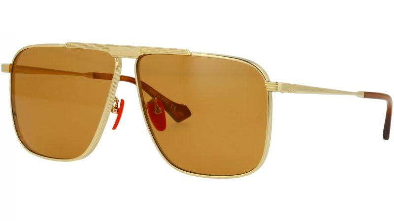 GUCCI GG0840S 004 63 GOLD Sunglasses