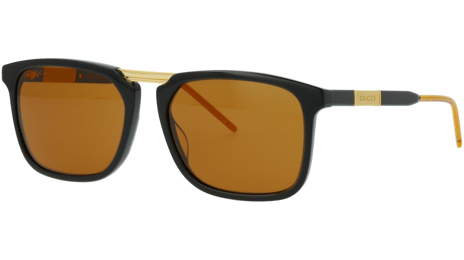 Gucci GG0842S 001 56 Black Square Sunglasses