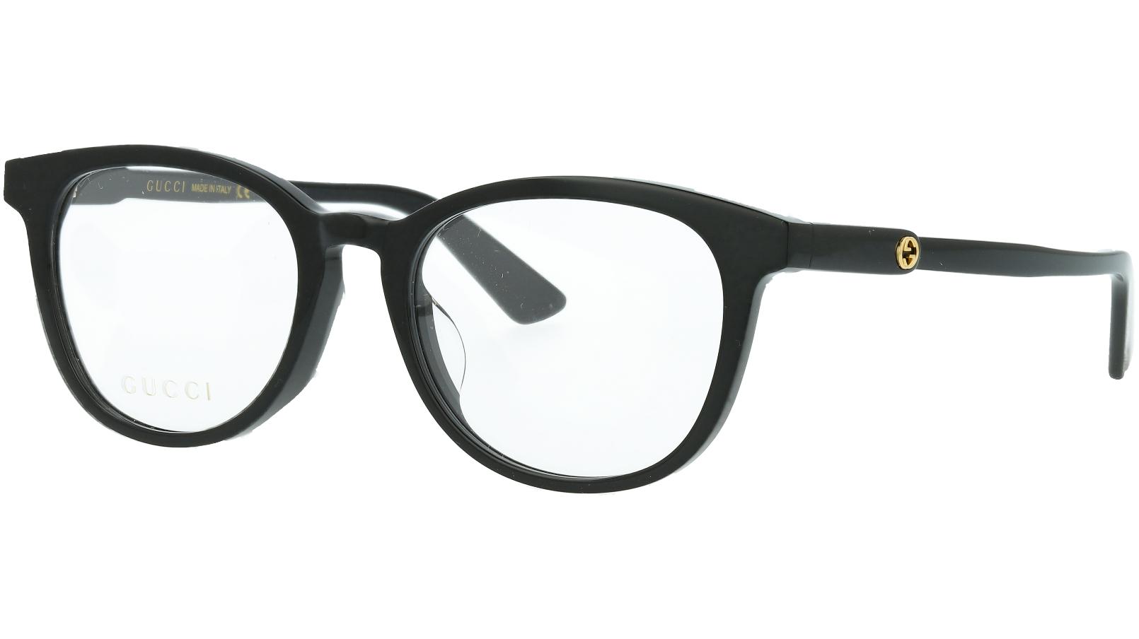 Gucci GG0866OA 001 52 Black Glasses