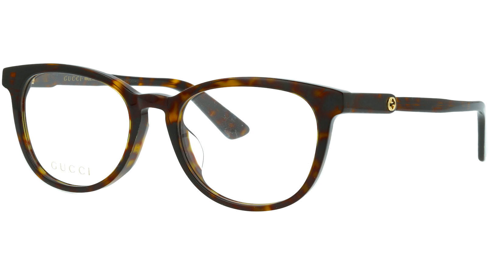 Gucci GG0866OA 002 52 Havana Glasses