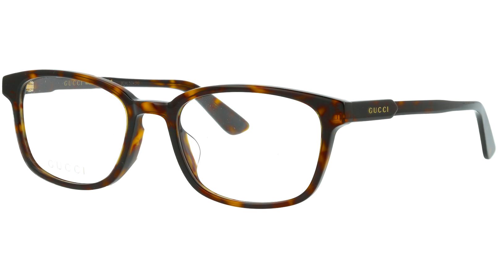 Gucci GG0867OA 002 54 Havana Glasses
