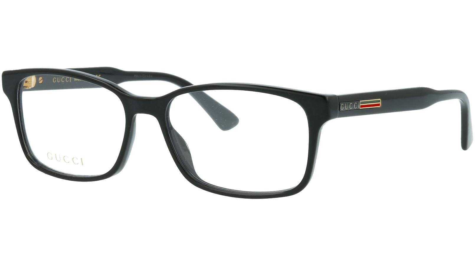 Gucci GG0826O 004 55 Black Glasses