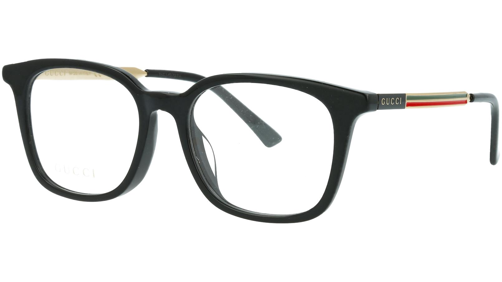 Gucci GG0831OA 001 52 Black Square Glasses