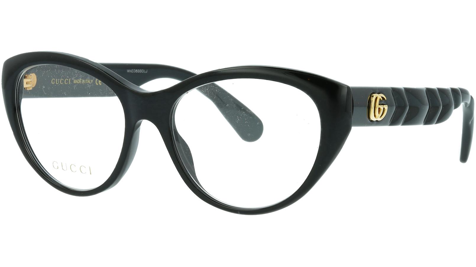 Gucci GG0812O 001 54 Black Cat-Eye Glasses