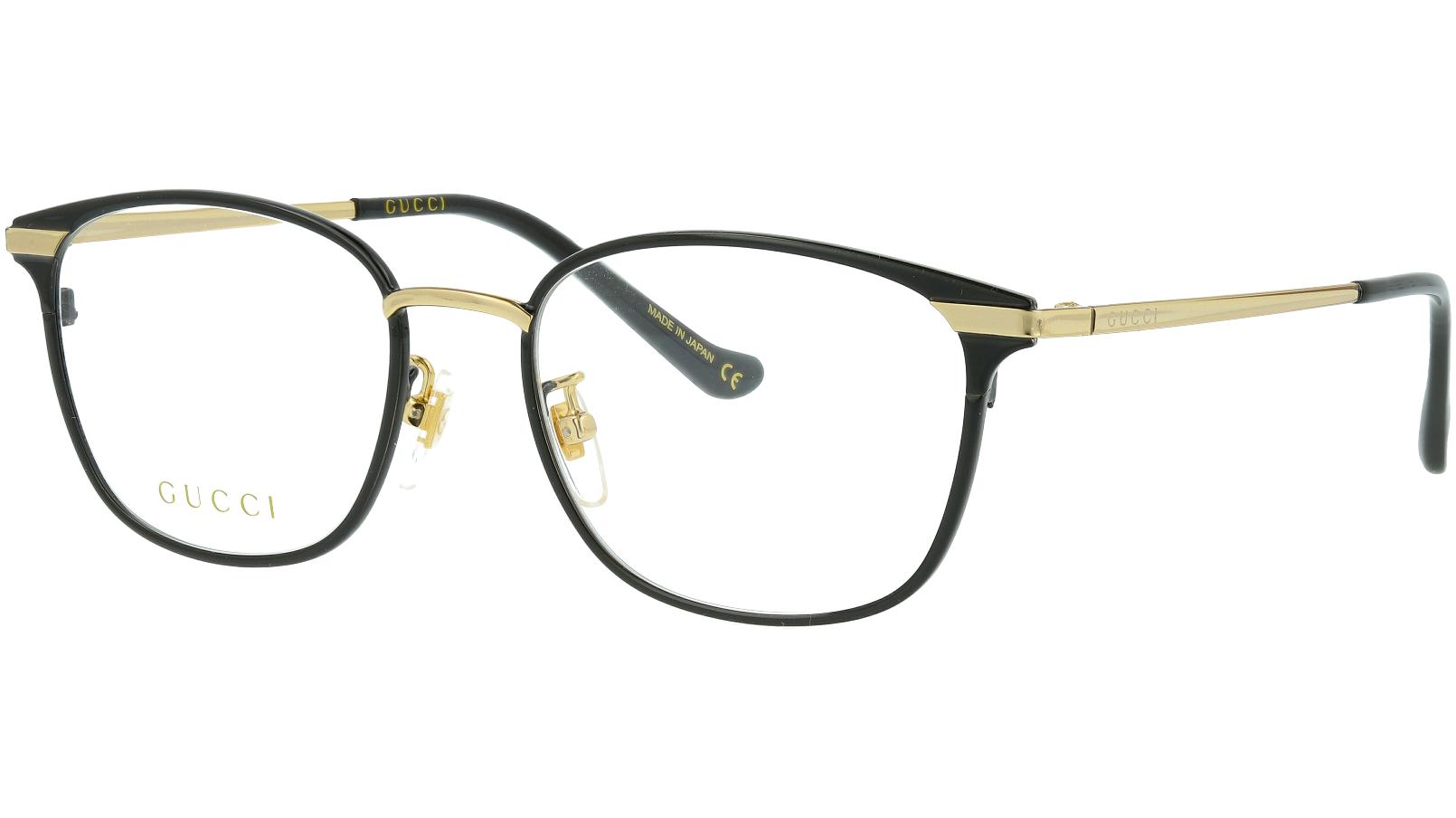 Gucci GG0864OA 001 53 Black Glasses