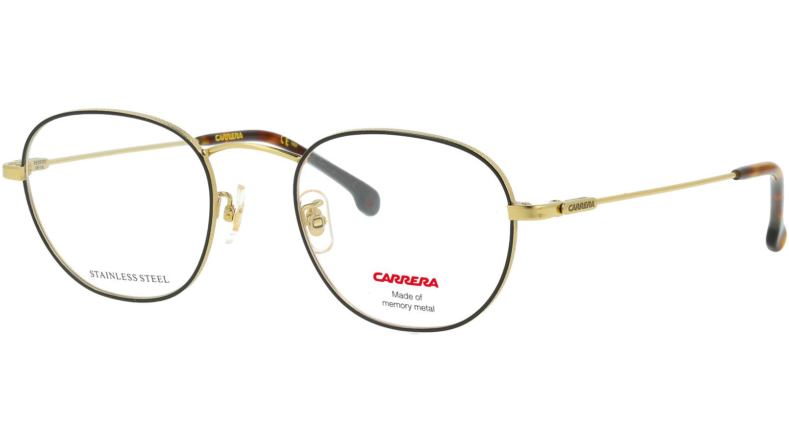 Carrera 217/G RHL 50 Gold Glasses
