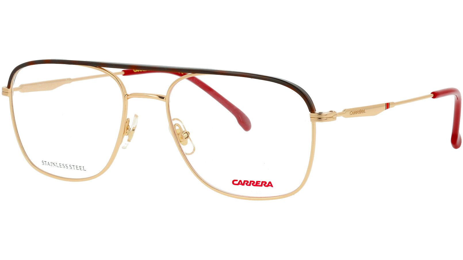Carrera 211 AU2 54 Red Glasses