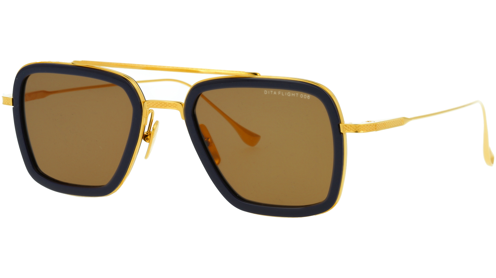 DITA FLIGHT.006 DRX7806 C-GREY 52 GOLD Sunglasses