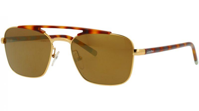 Calvin Klein CK1221S 753 55 Gold Sunglasses