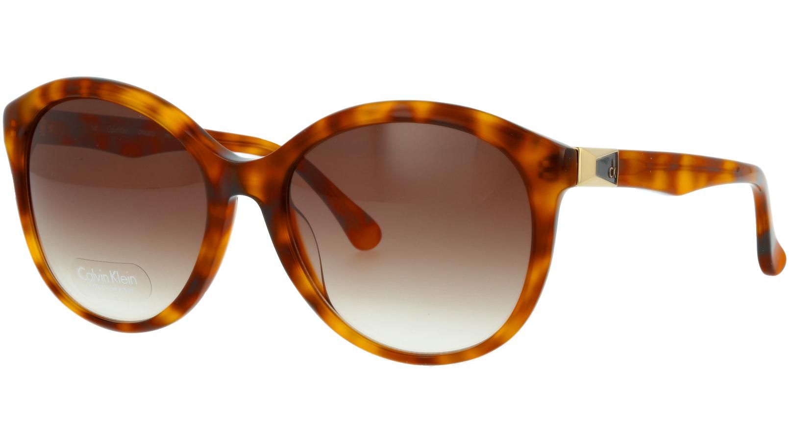 Calvin Klein CK4291S 211 57 Havana Sunglasses