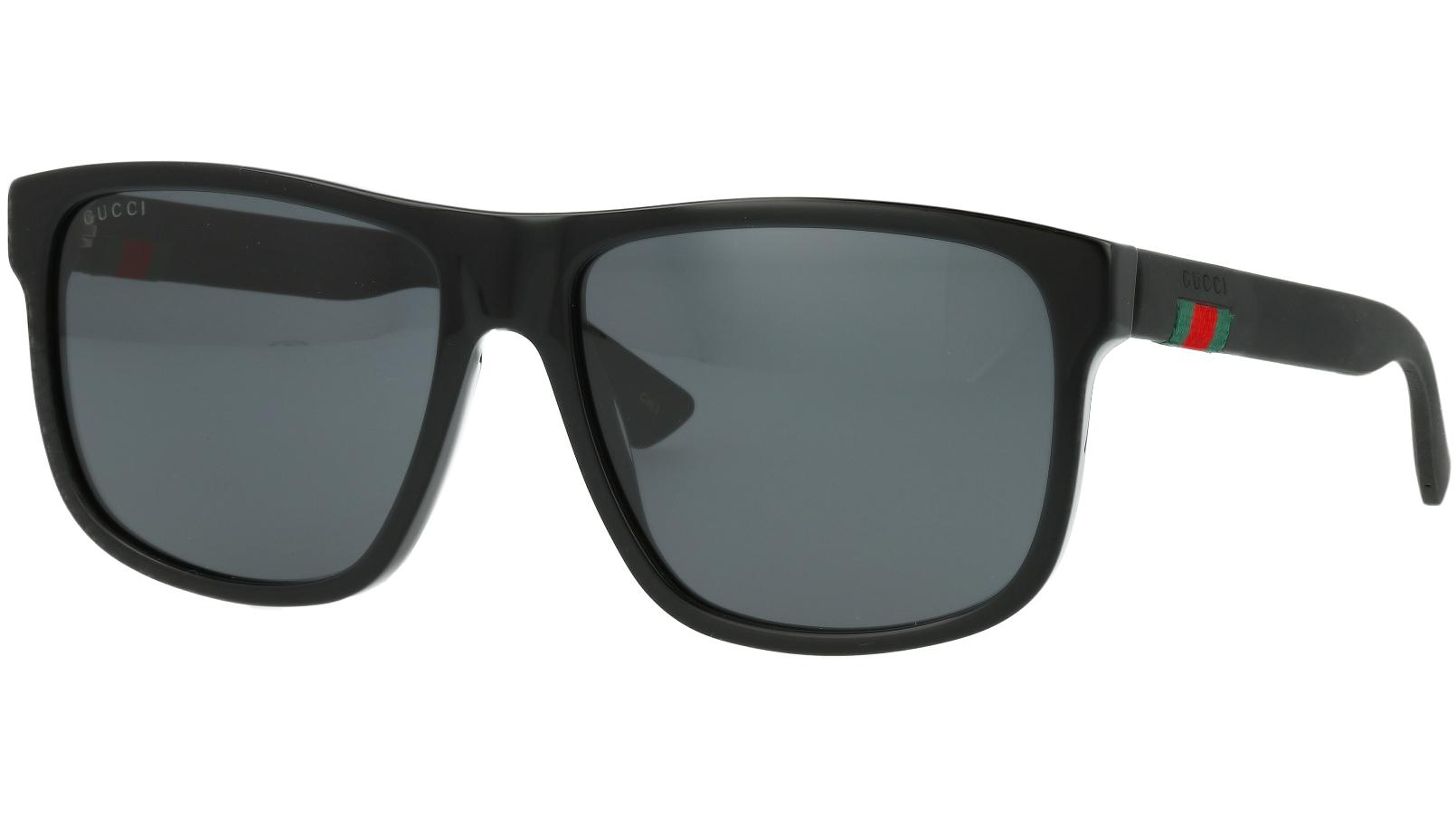 GUCCI GG0010S 001 58 BLACK Sunglasses