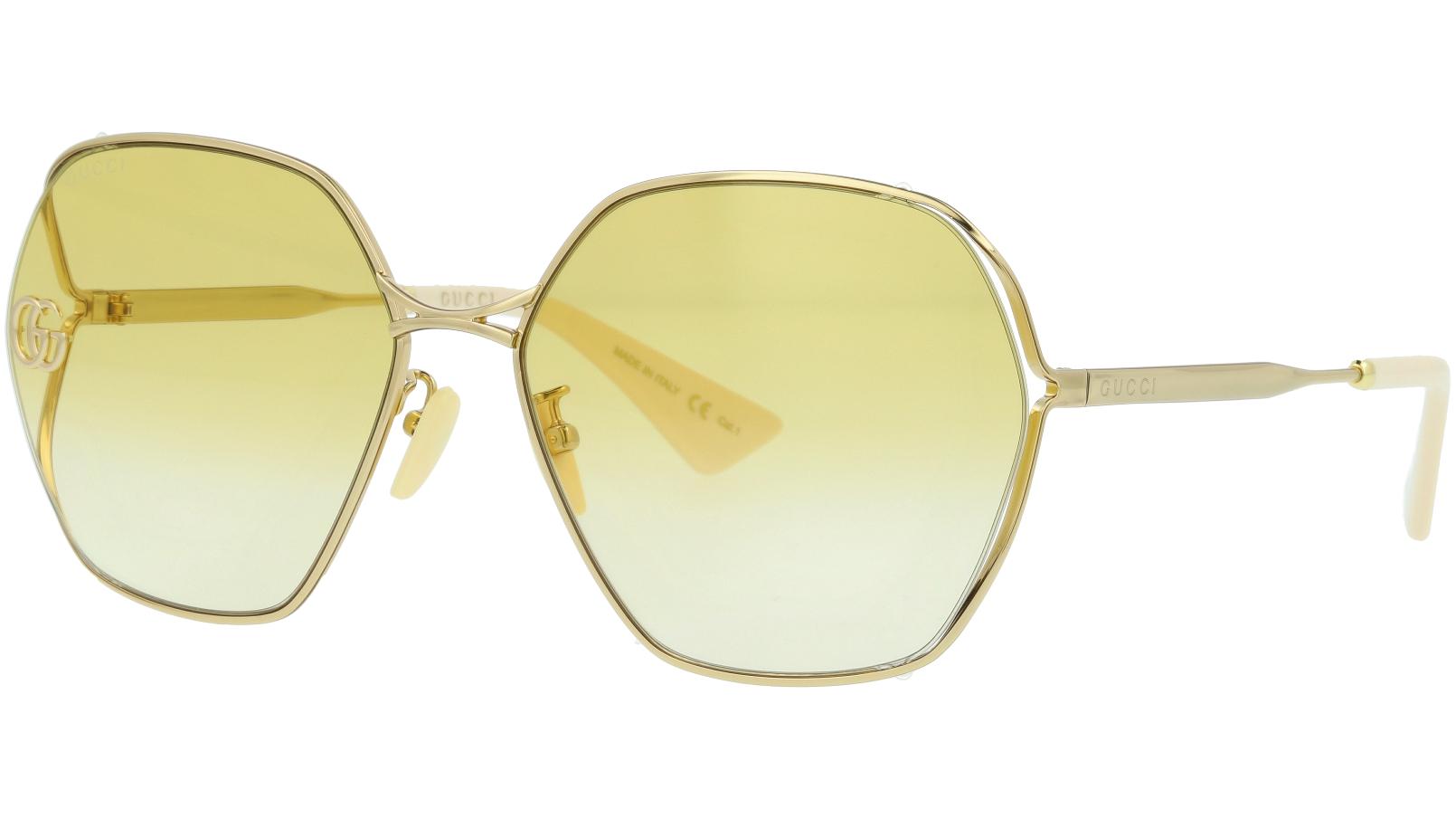 GUCCI GG818SA 004 63 GOLD Sunglasses