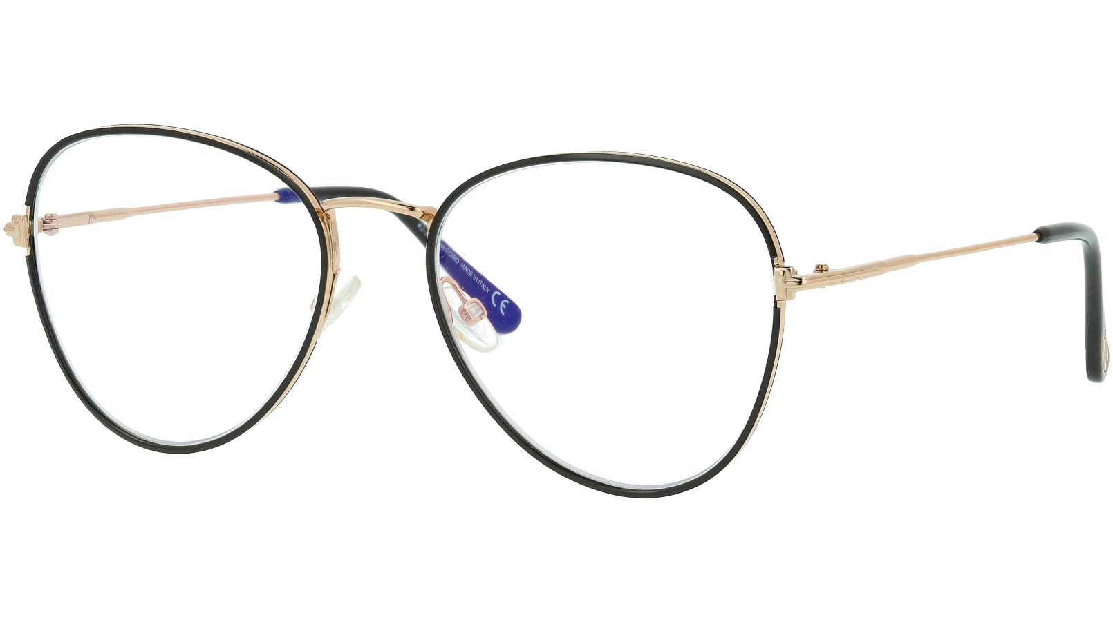 Tom Ford TF5631-B 001 54 Shiny Glasses