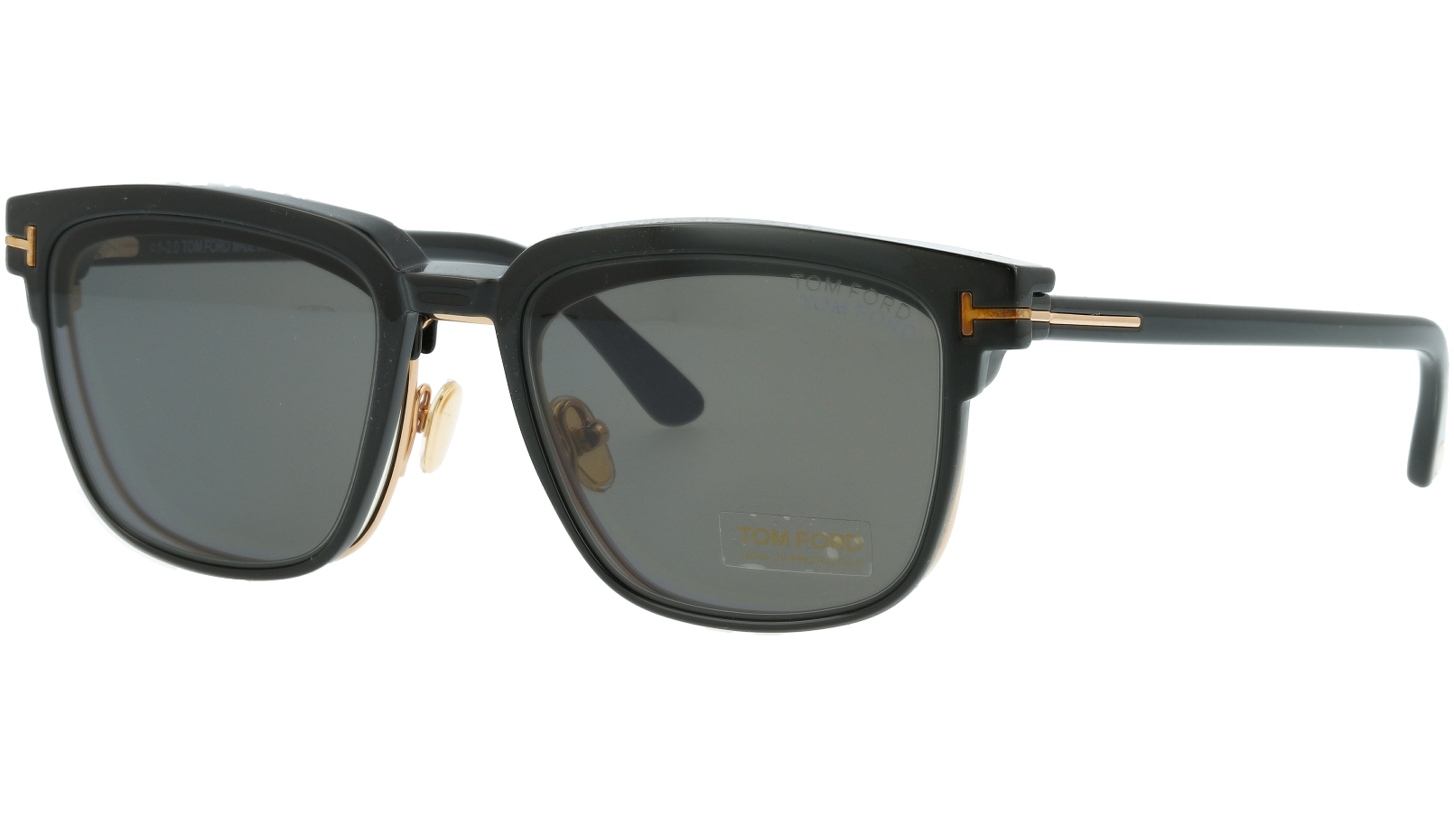 TOM FORD FT5683-B 001 54 SHINY Sunglasses
