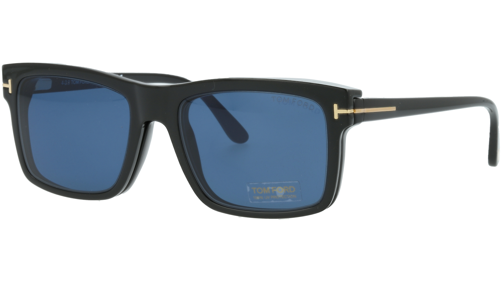 TOM FORD FT5682-B 001 54 SHINY Sunglasses