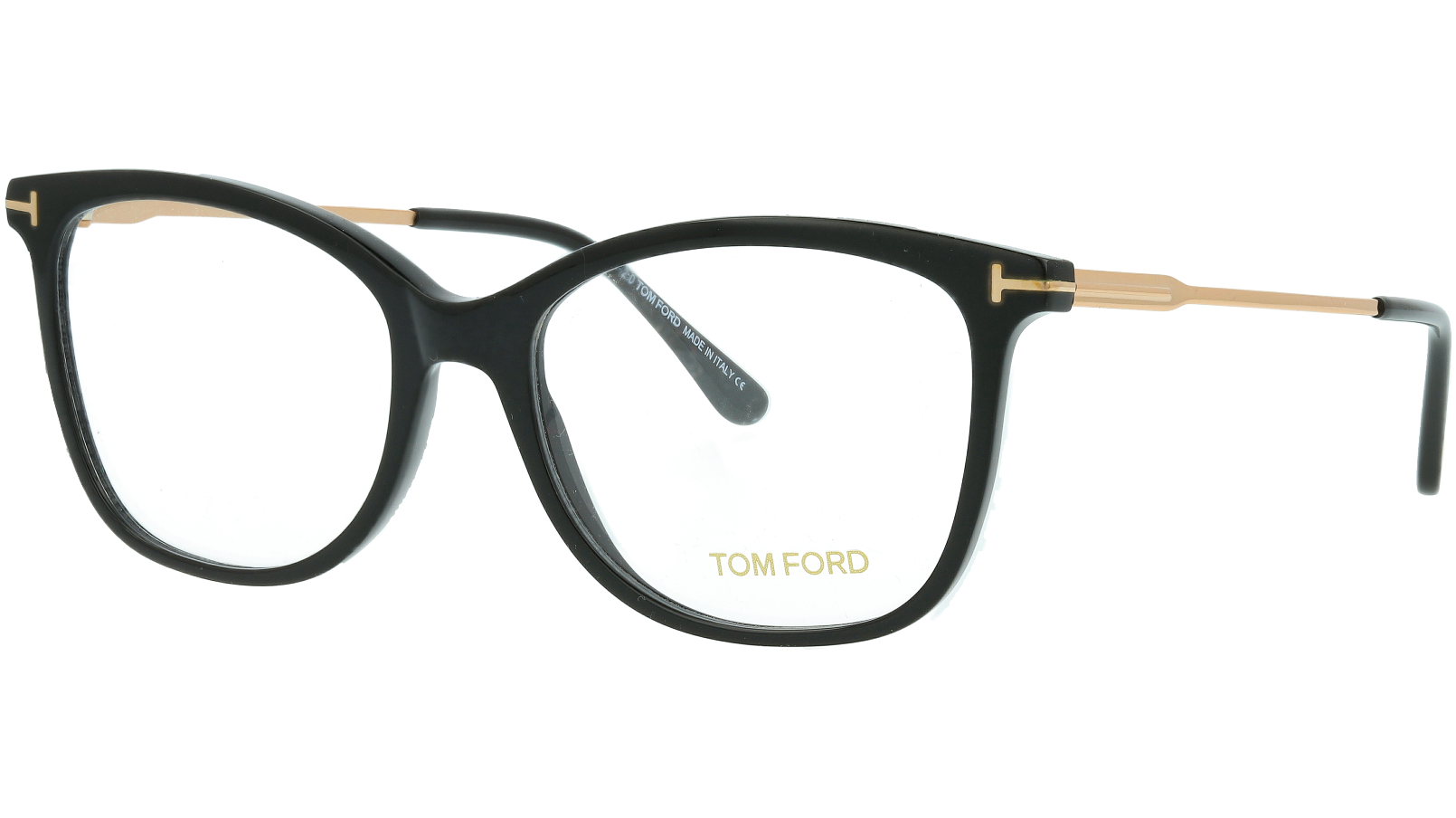 TOM FORD FT5510 001 54 SHINY Glasses