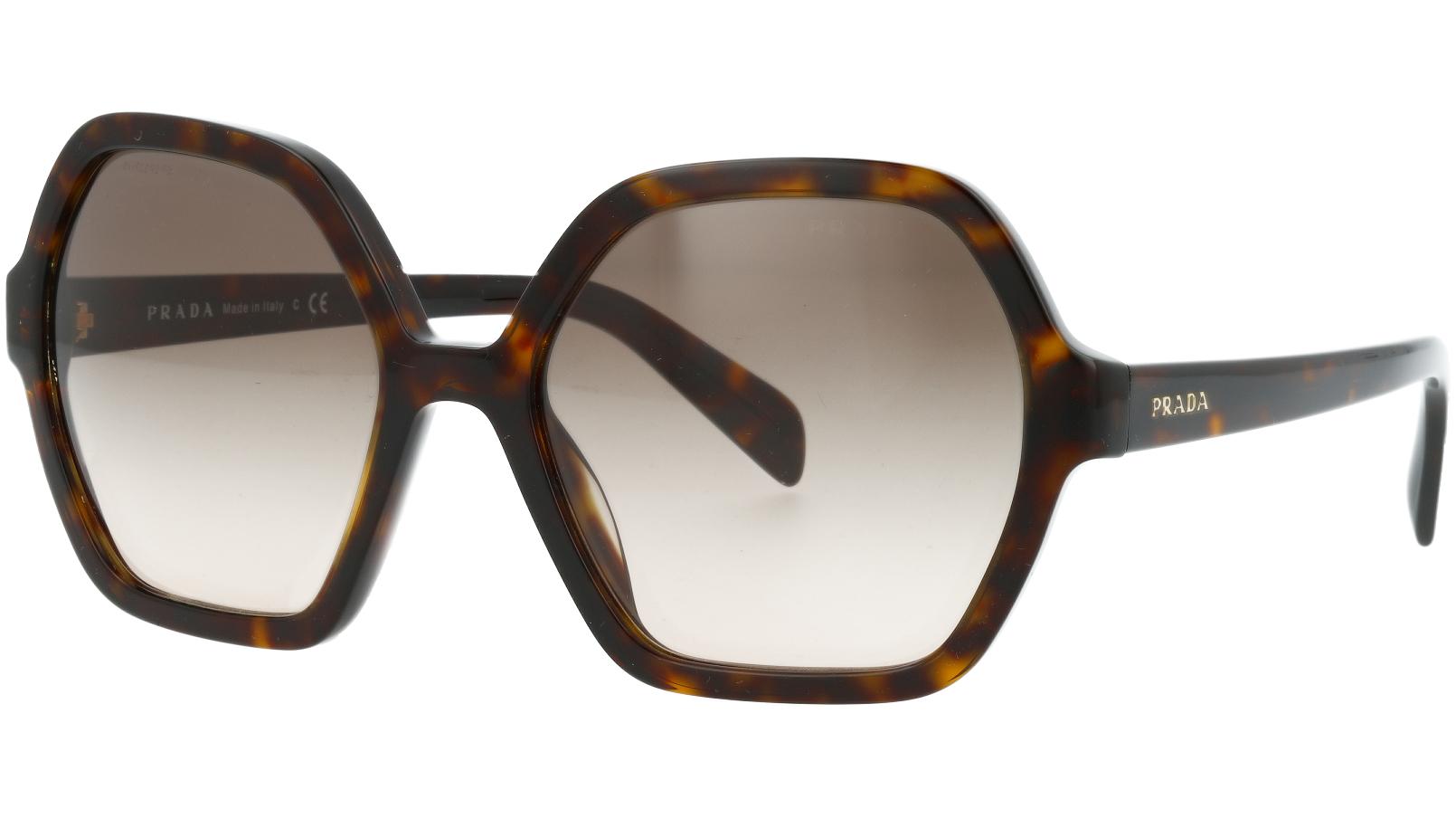 PRADA PR06SS 2AU3D0 56 HAVANA Sunglasses