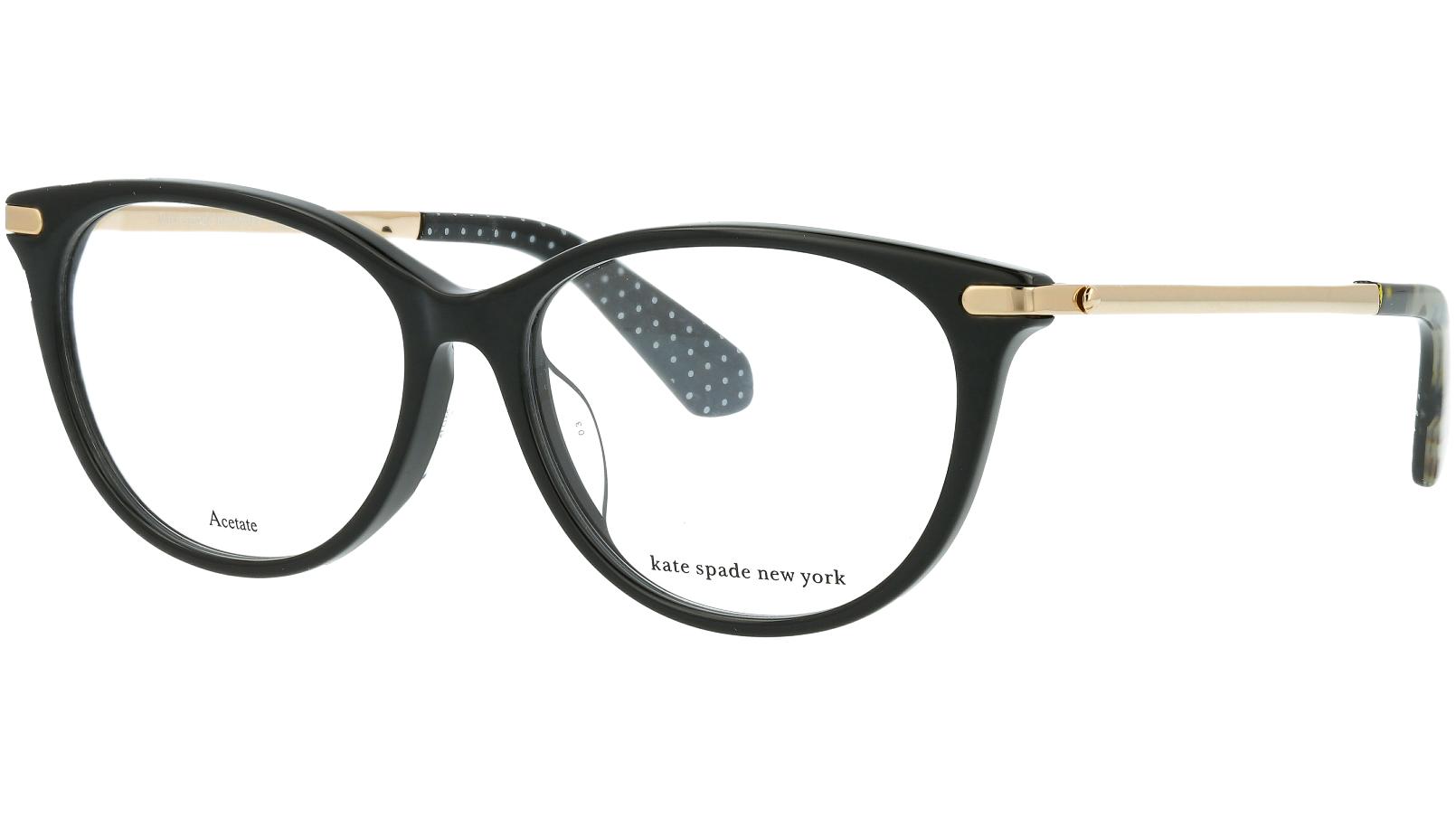 KATE SPADE ALBIE/F 807 53 BLACK Glasses