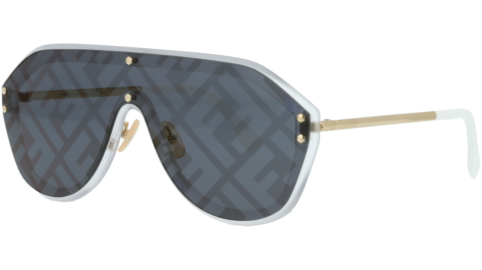 FENDI FFM0039/G/S 83I7R 99 GOLD Sunglasses