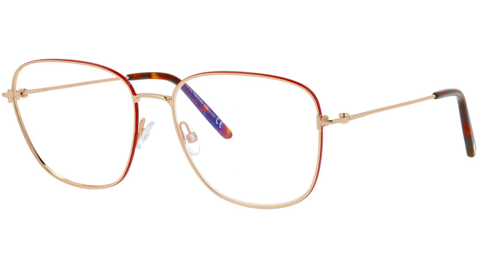 Tom Ford TF5572-B 069 56 Rose Glasses