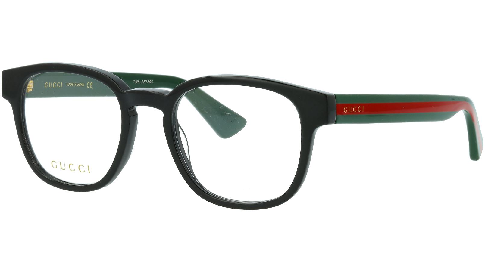 Gucci GG0927O 001 49 Black Square Glasses