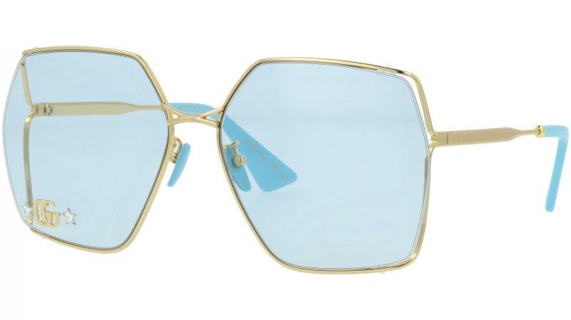 GUCCI GG0817S 004 65 GOLD Sunglasses