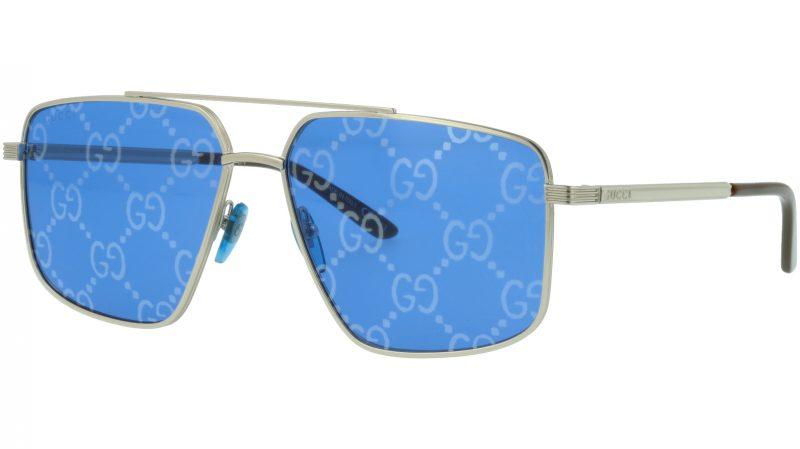 Gucci GG0941S 004 Silver Pilot Sunglasses