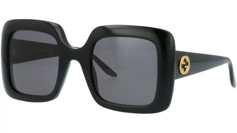 Gucci GG0896S 001 52 Black Sunglasses