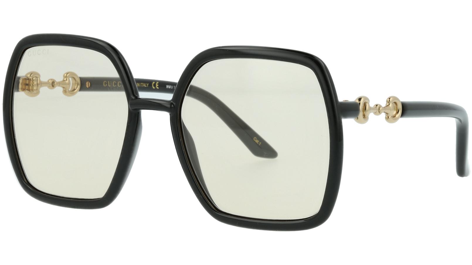 Gucci GG0890S 002 55 Havana Square Sunglasses