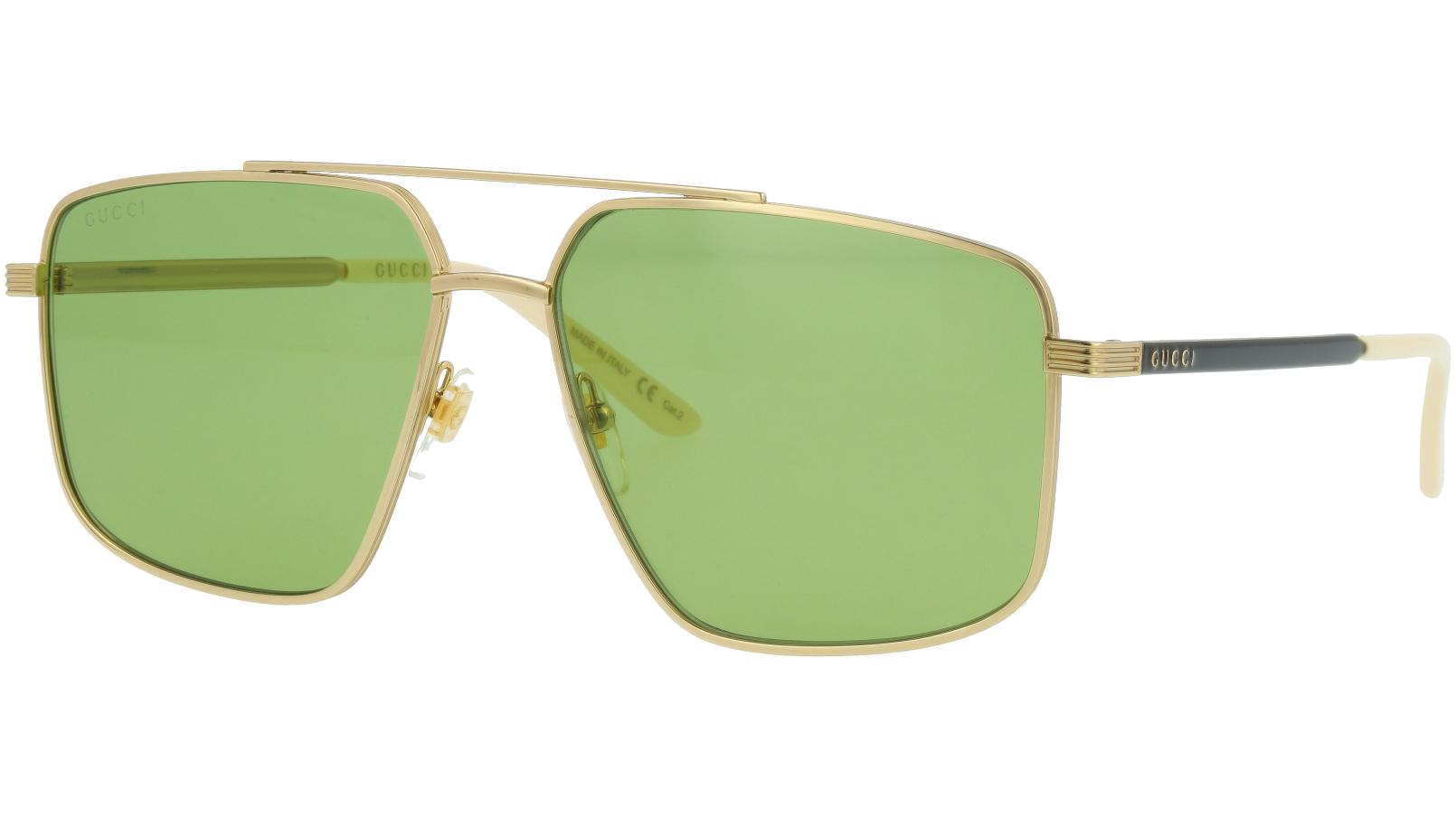 Gucci GG0941S 003 60 Gold Pilot Sunglasses
