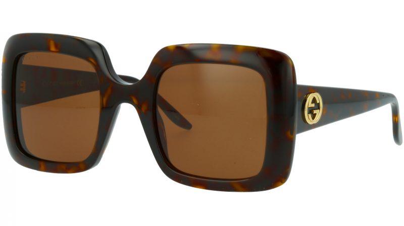 Gucci GG0896S 002 52 Havana Sunglasses