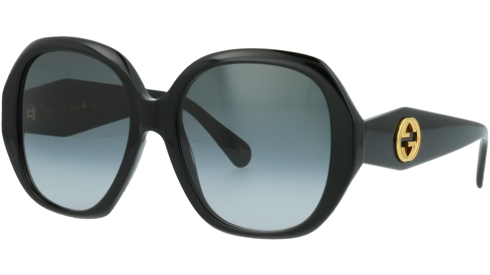 Gucci GG0796S 001 56 Black Full-Rim Sunglasses