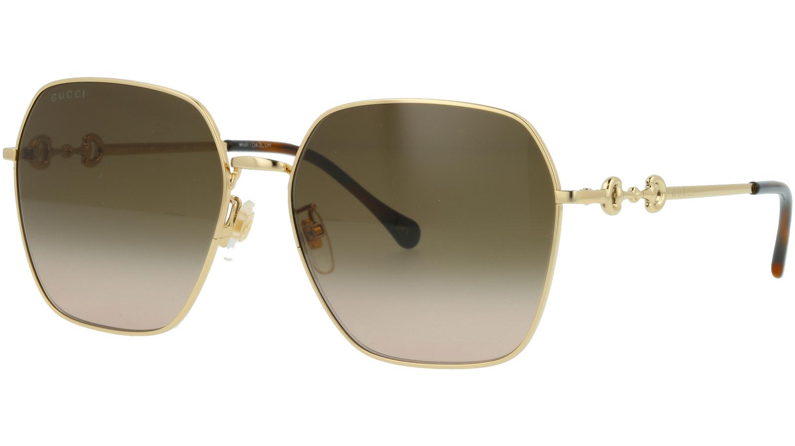 GUCCI GG0882SA 005 60 GOLD Sunglasses
