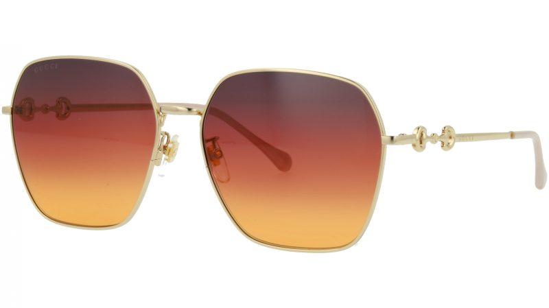 GUCCI GG0882SA 004 60 GOLD Sunglasses
