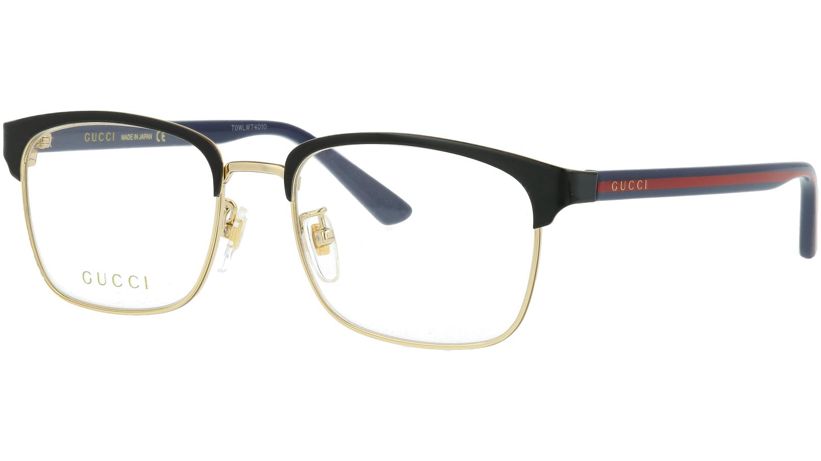 Gucci GG0934OA 002 Black Rectangle Glasses