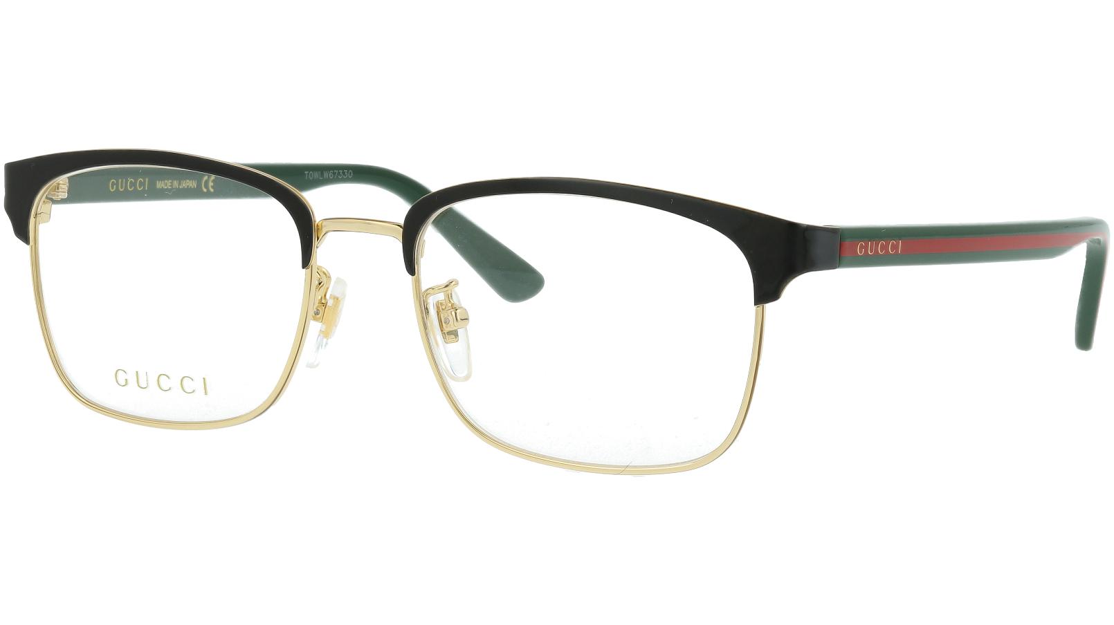 Gucci GG0934OA 001 54 Black Rectangle Glasses