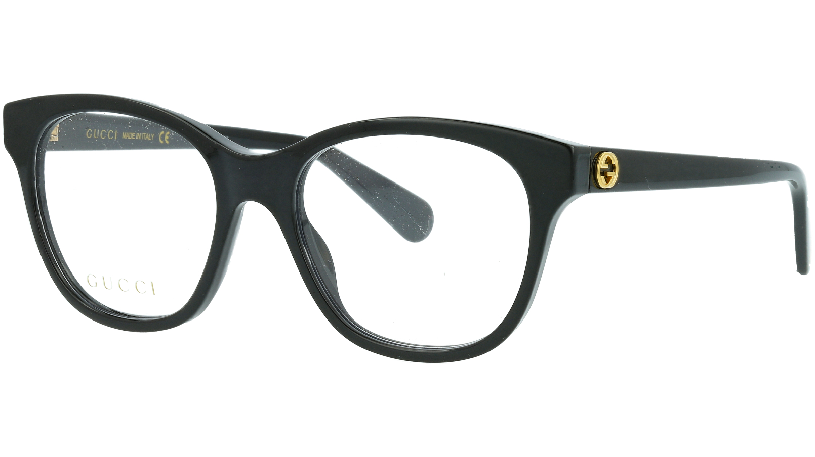 Gucci GG0923O 001 51 Black Cat-eye Glasses