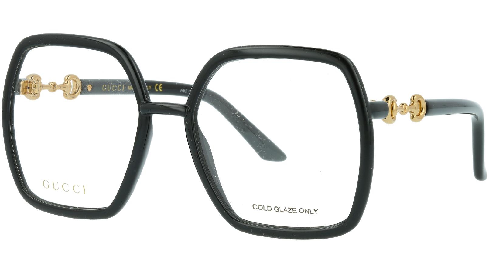 Gucci GG0890O 001 55 Black Square Glasses