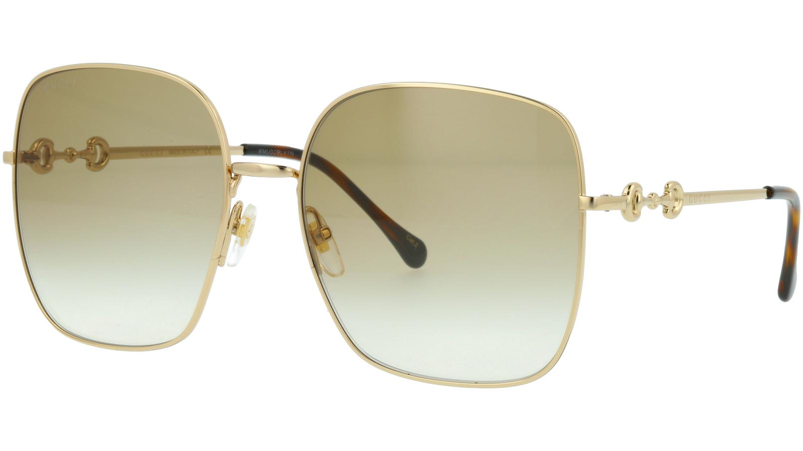 GUCCI GG0879S 004 61 GOLD Sunglasses