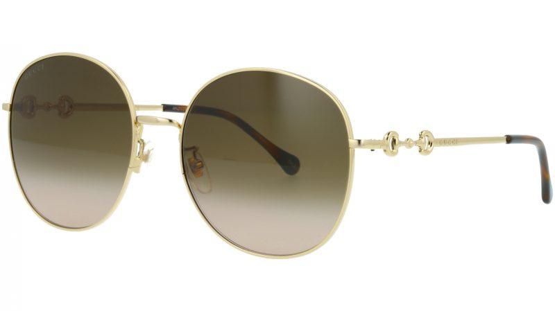 GUCCI GG0881SA 002 59 GOLD Sunglasses