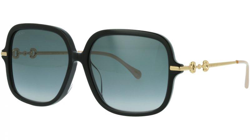 Gucci GG0884SA 001 58 Black Square Sunglasses