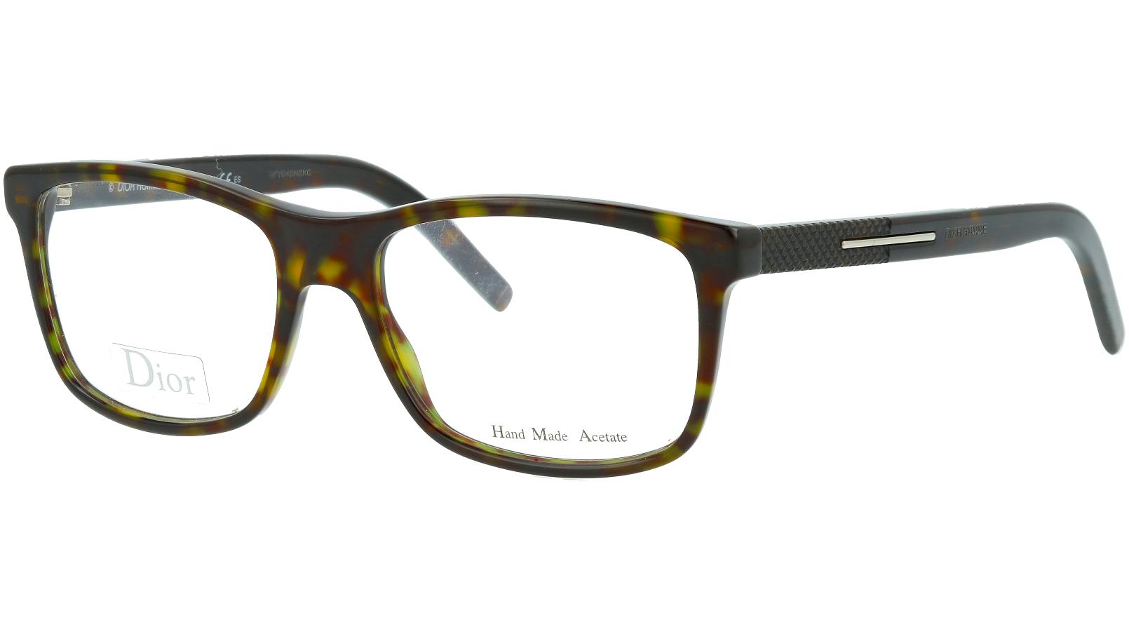 Dior HOMME BlackTIE140 086 53 Havana Glasses