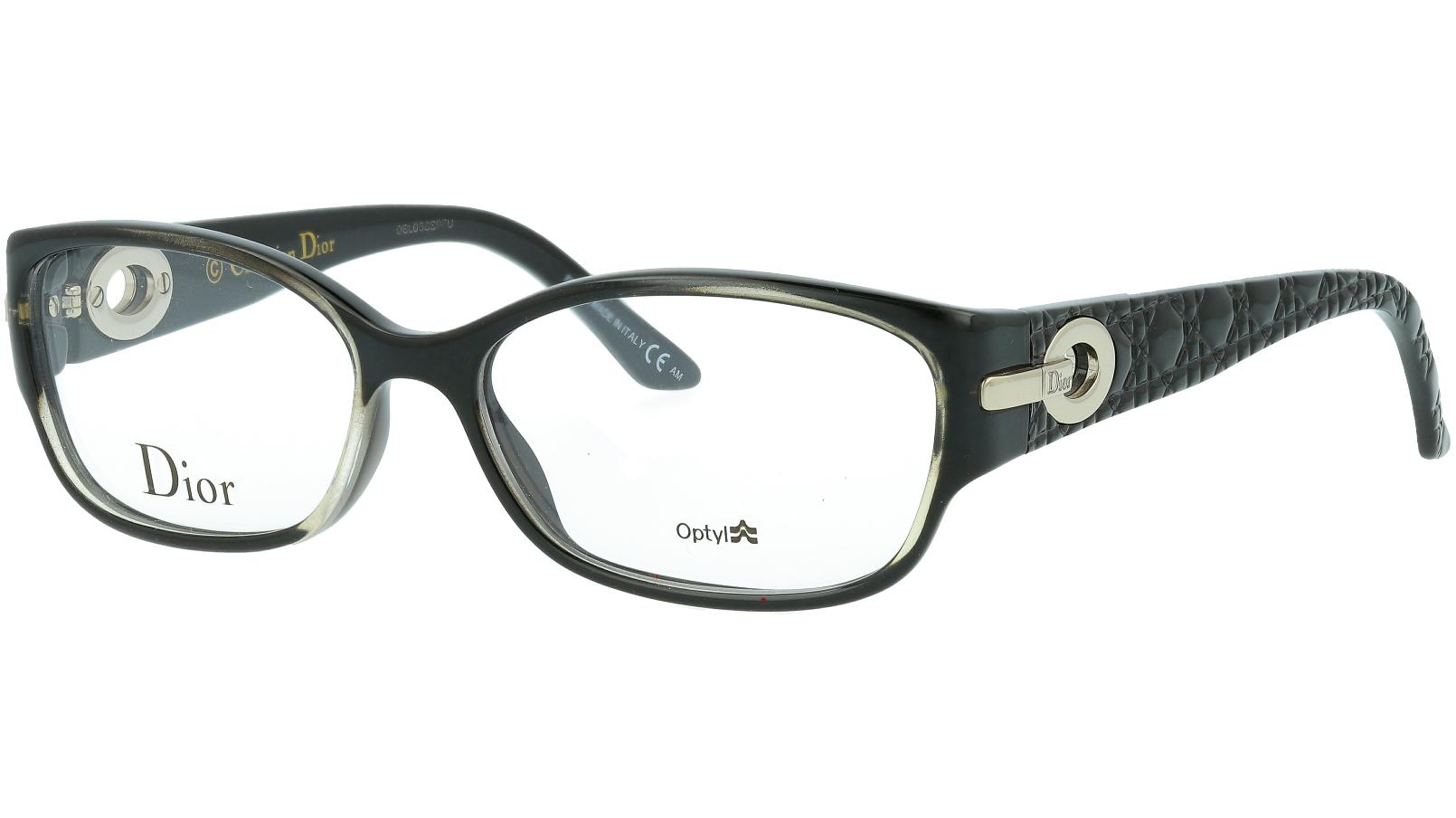 DIOR CD3205 SO2 54 BLACK Glasses